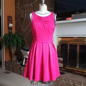 Lauren Conrad Pink Bow Dress